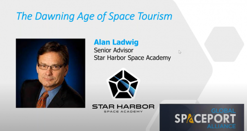 The Dawning Age of Space Tourism with Alan Ladwig     September 30, 2021